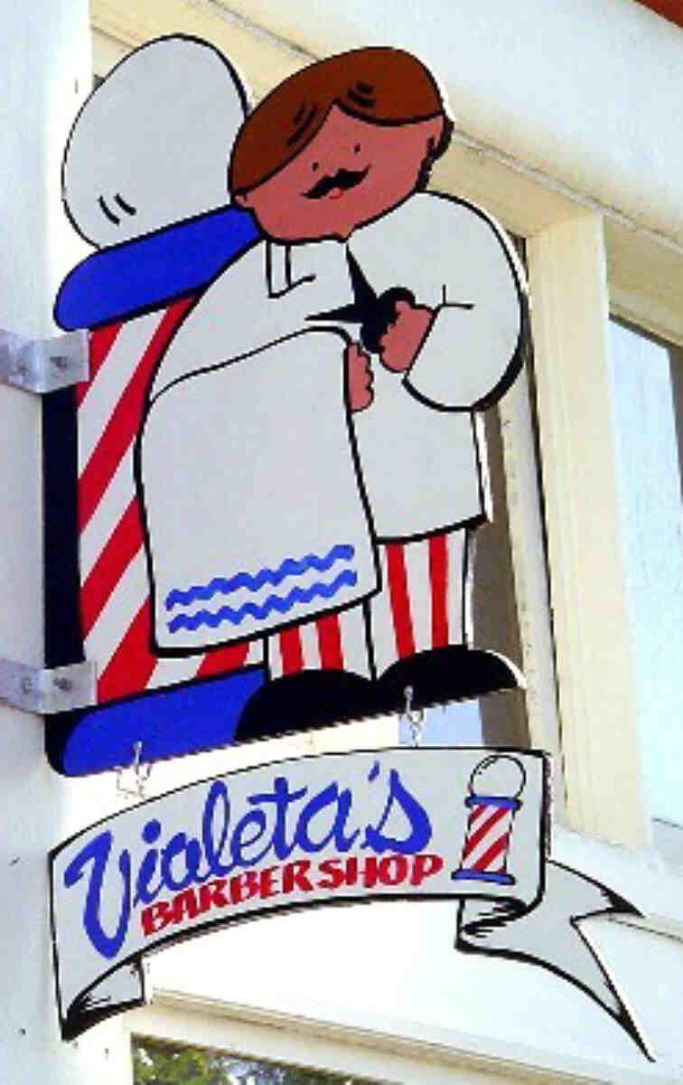 Violeta's Barber Shop Adams Avenue